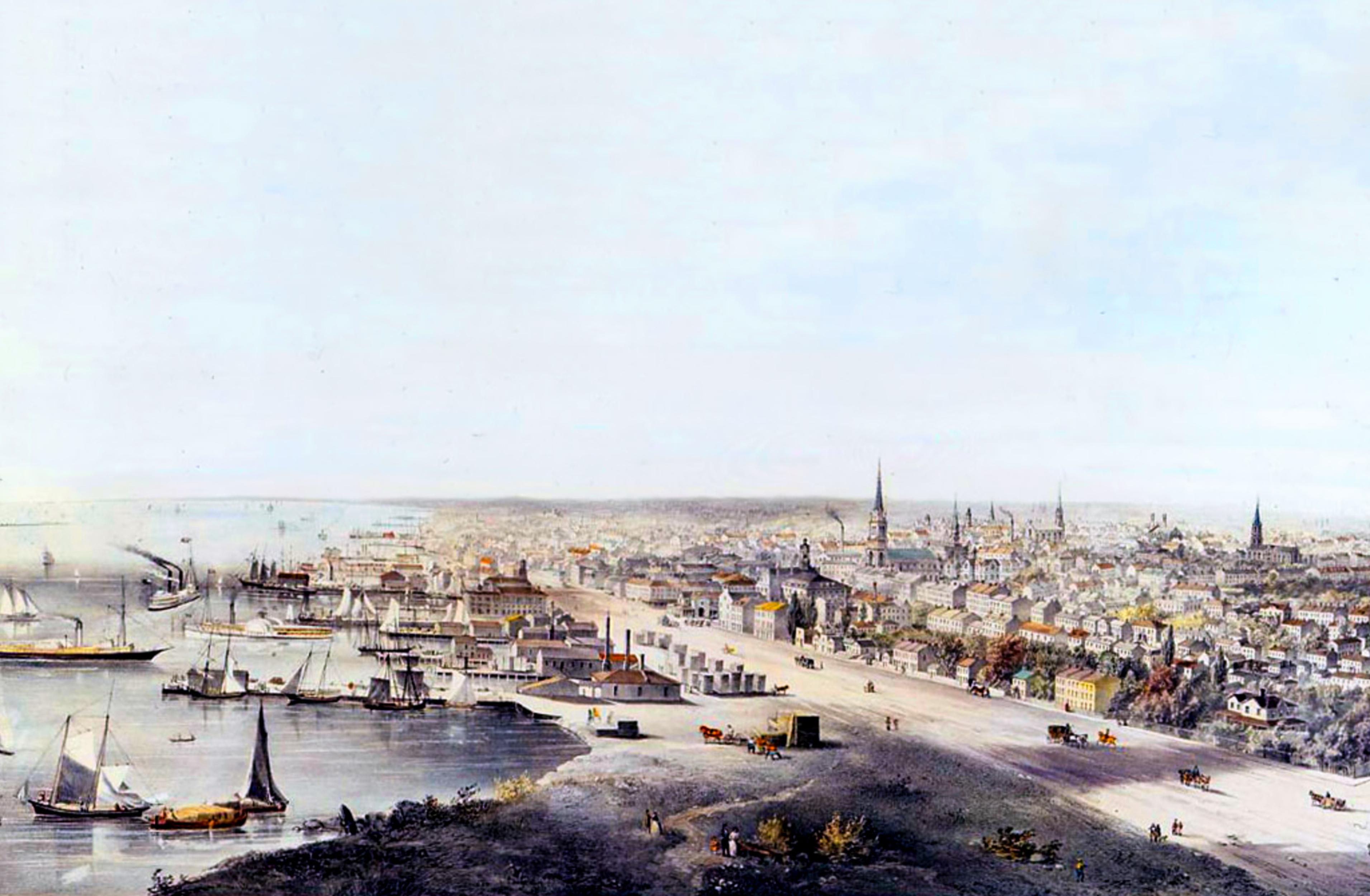 toronto waterfront 1800s
