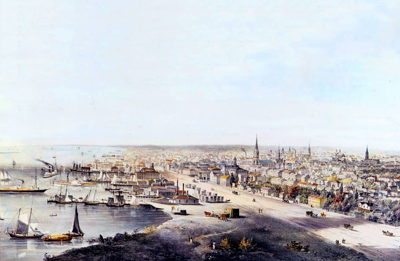 toronto waterfront 1800s