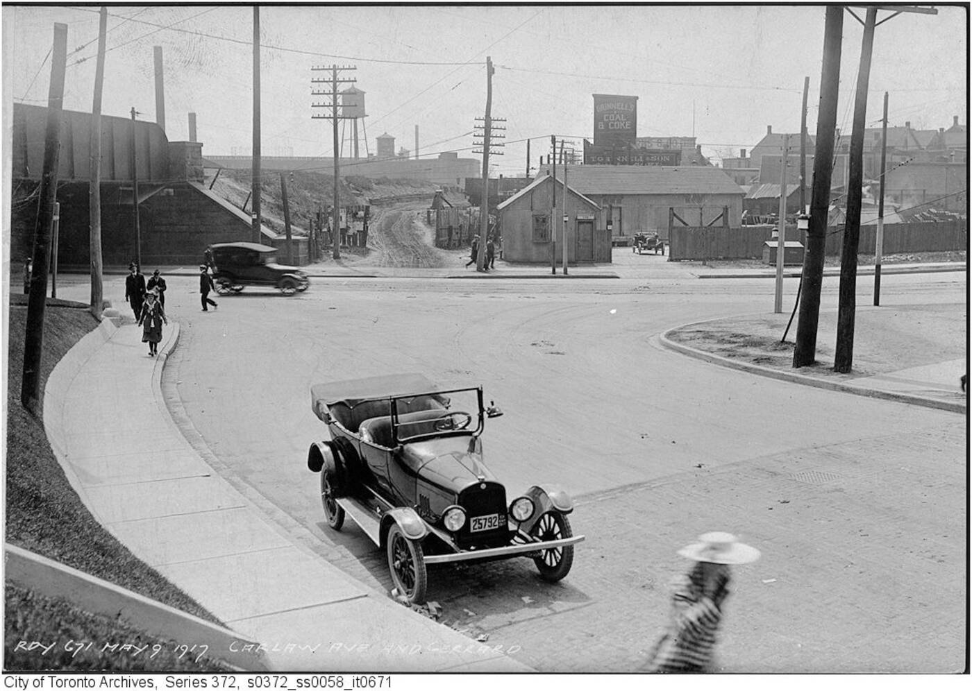 leslieville history