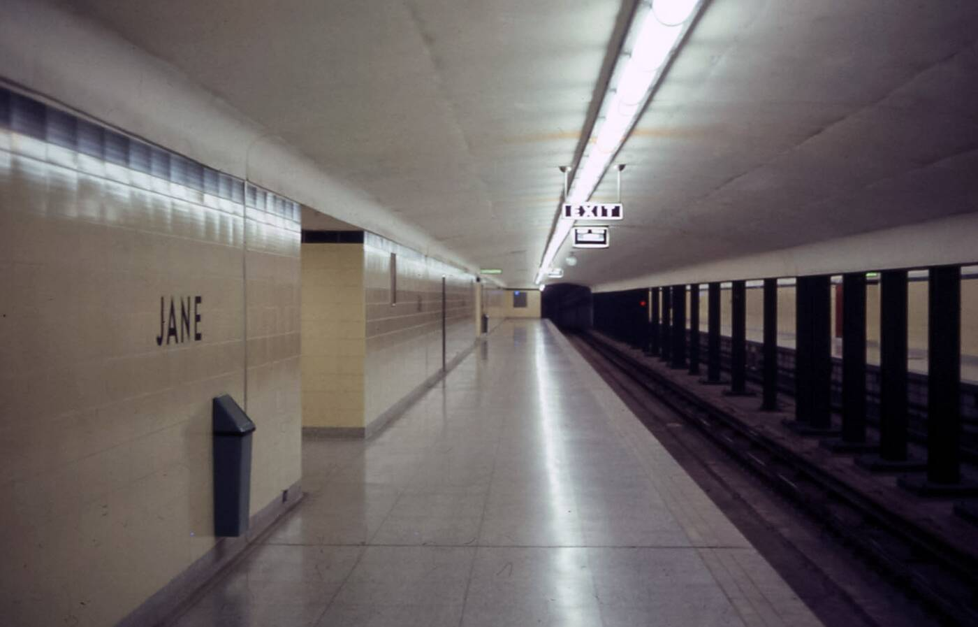 TTC station 1968