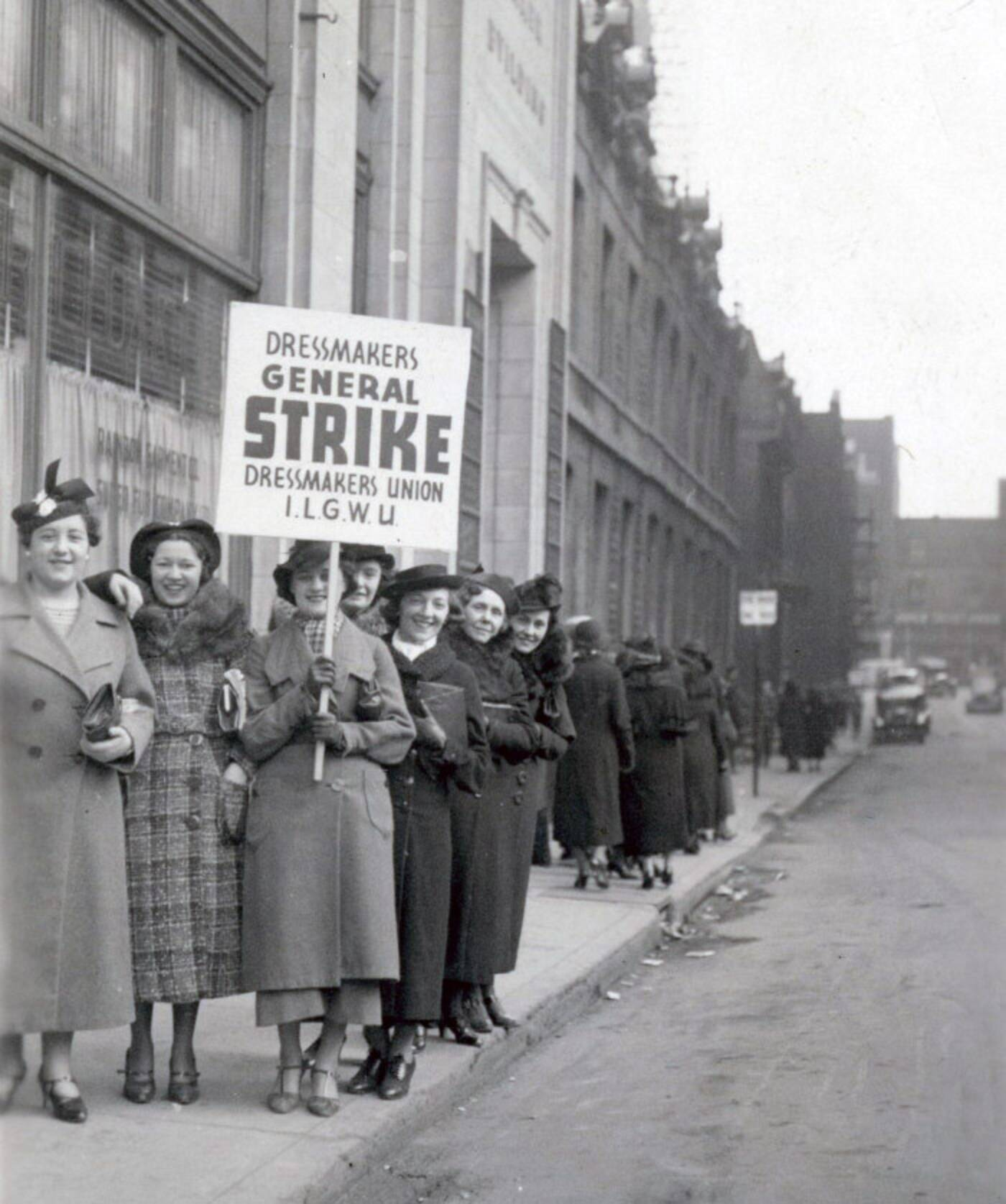 toronto garment workers strike
