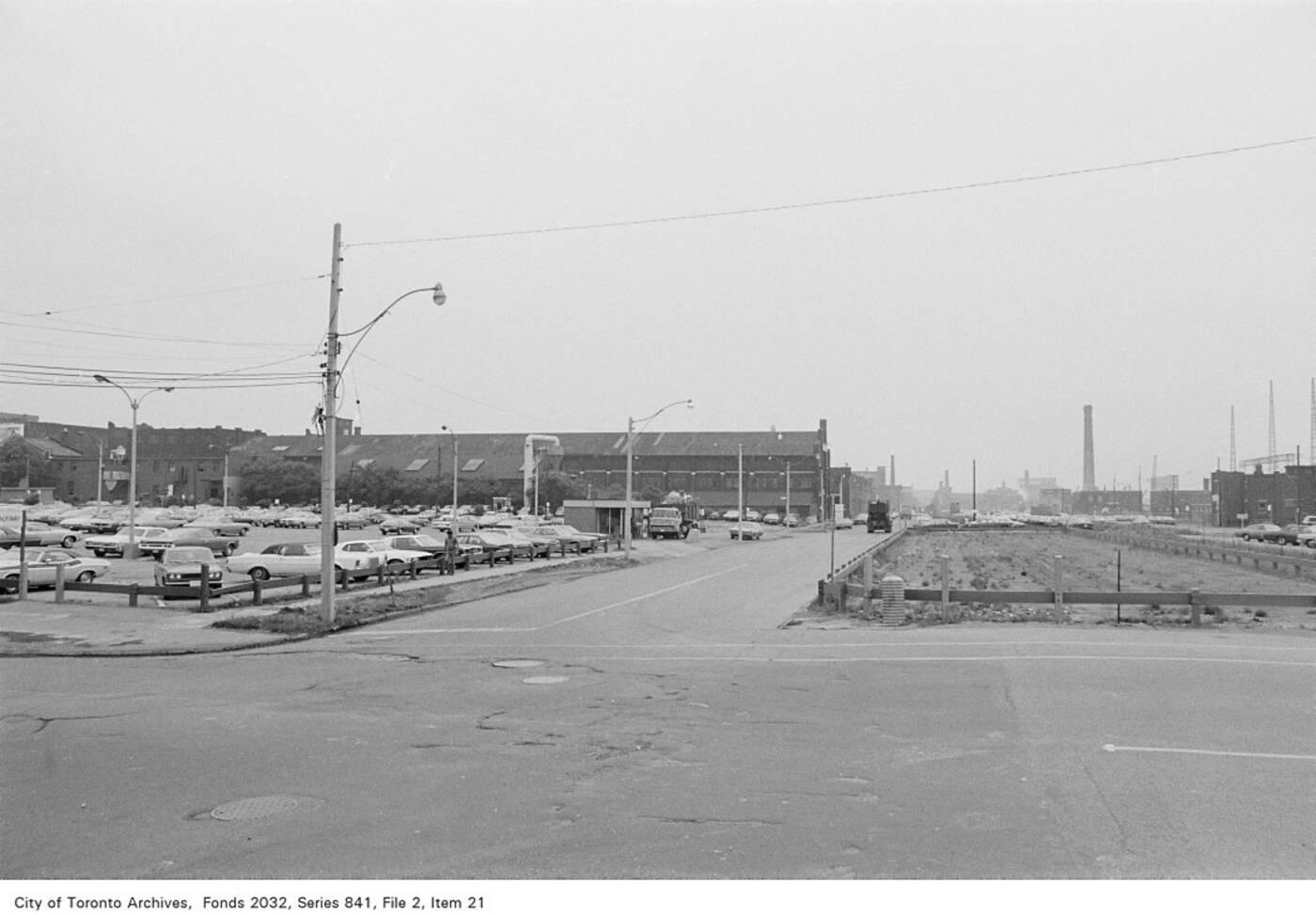 esplanade history toronto