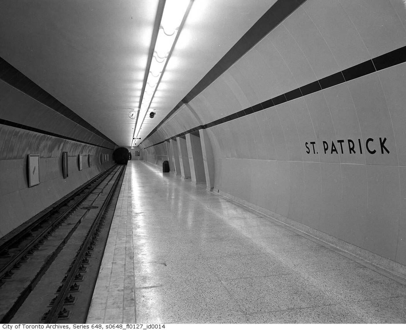 ttc st patrick station