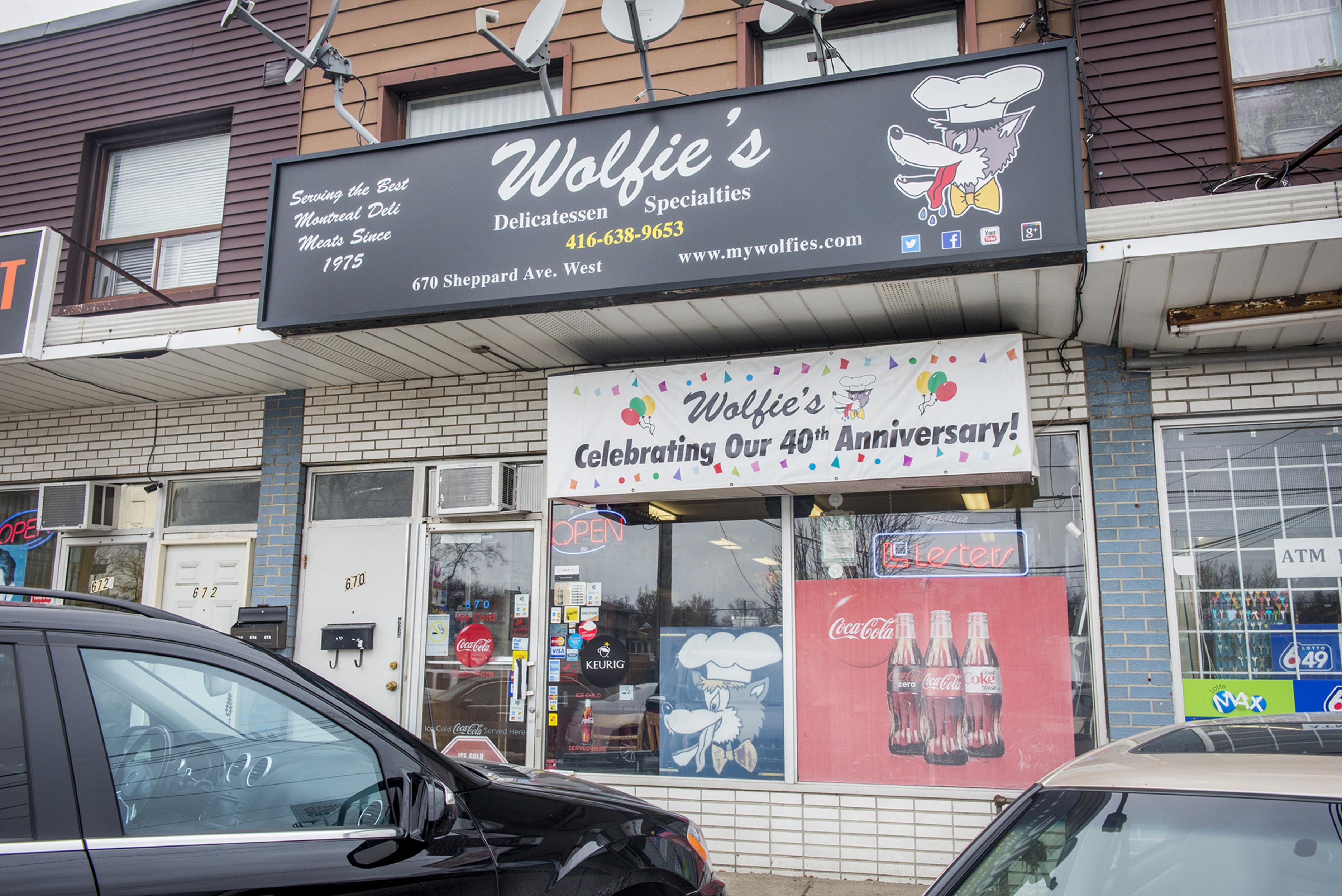 Wolfies Deli Toronto