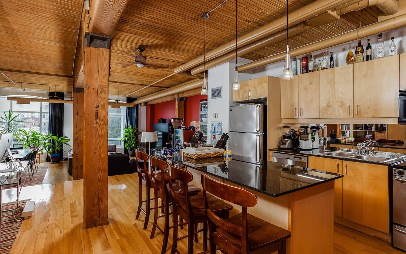 993 Queen Street West loft