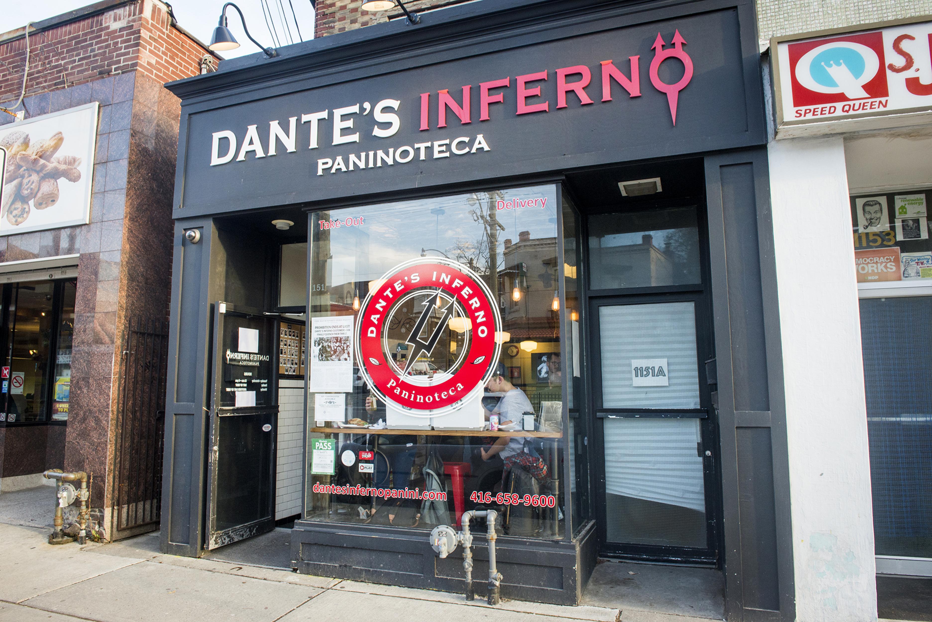 Dantes Inferno Toronto