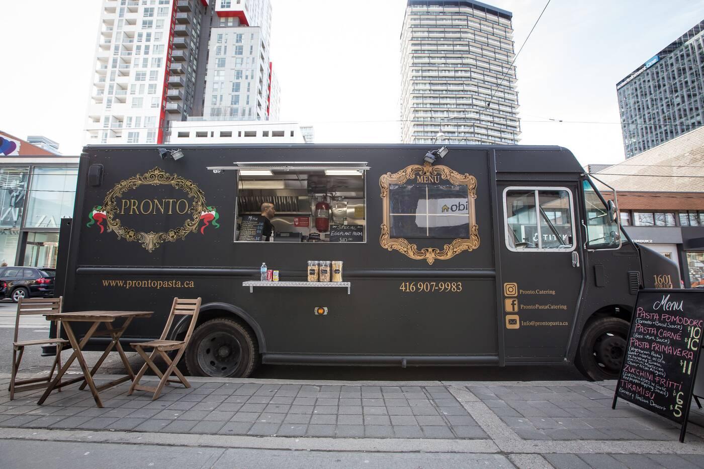Pronto Food Truck Toronto