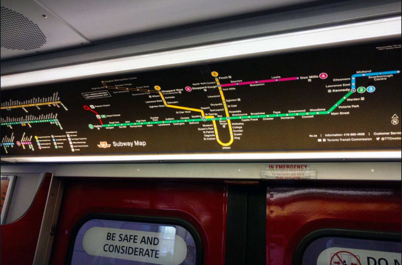 New York Subway Map Redesign.The Ttc Just Redesigned The Subway Map