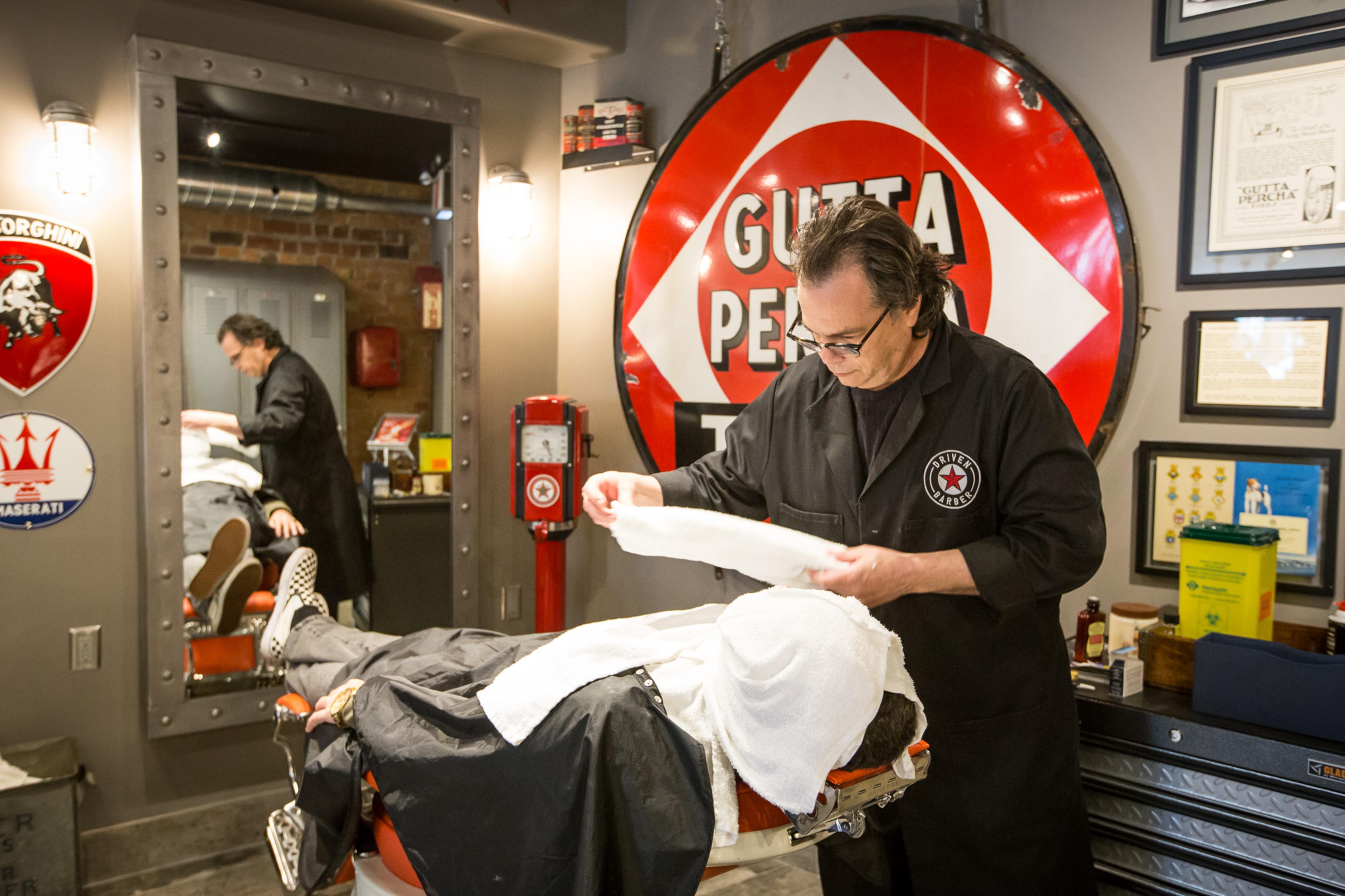 driven barber toronto