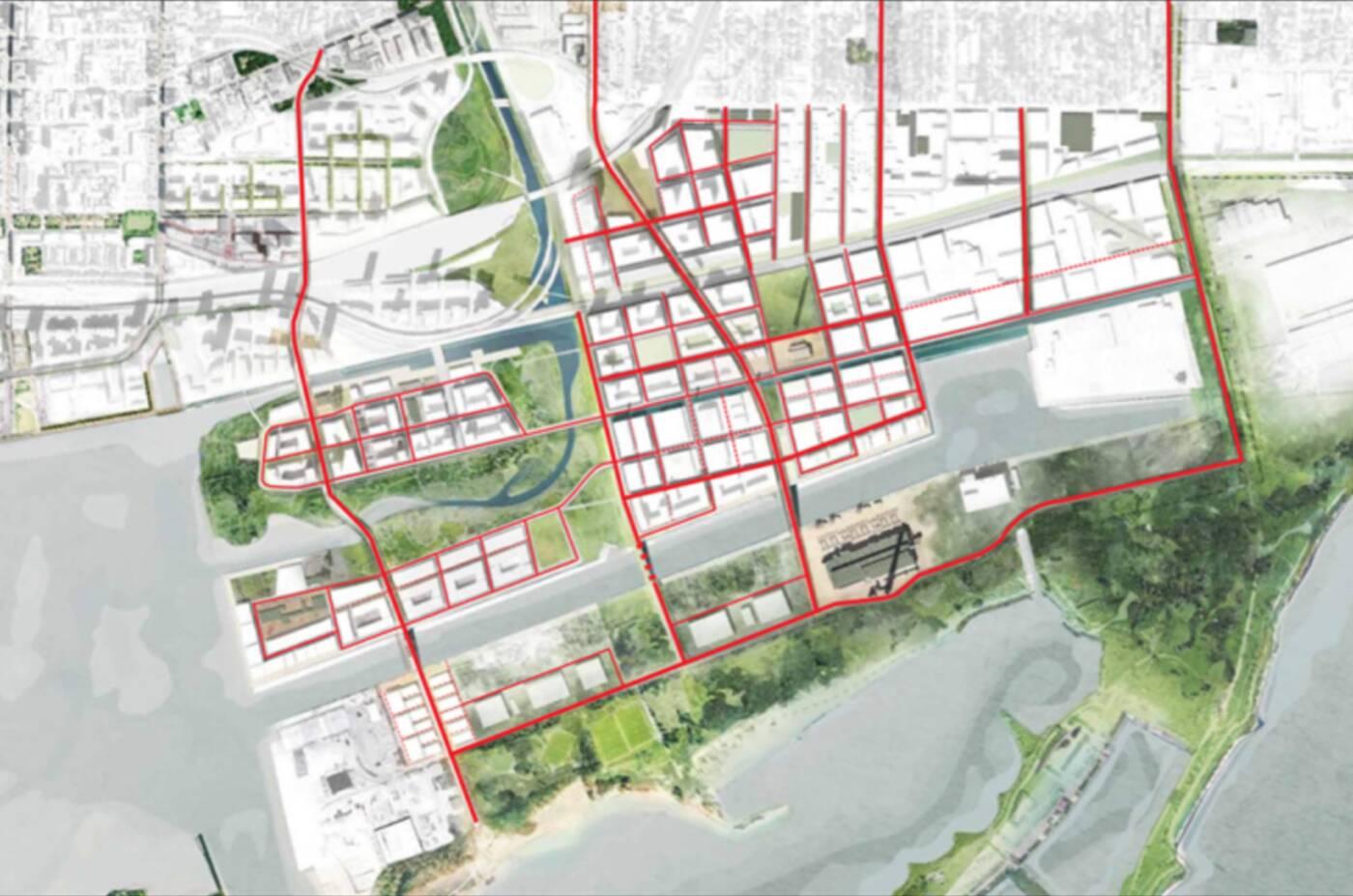 port lands plans toronto