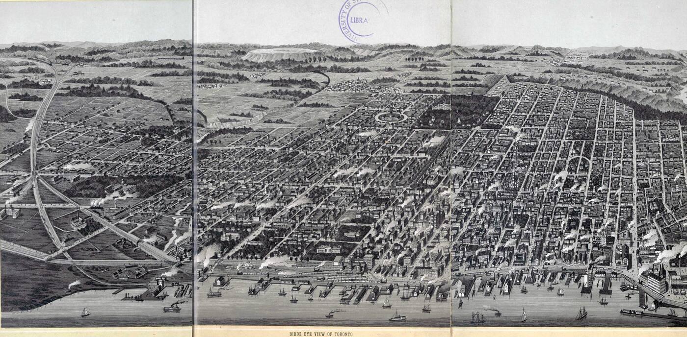 toronto map 1879