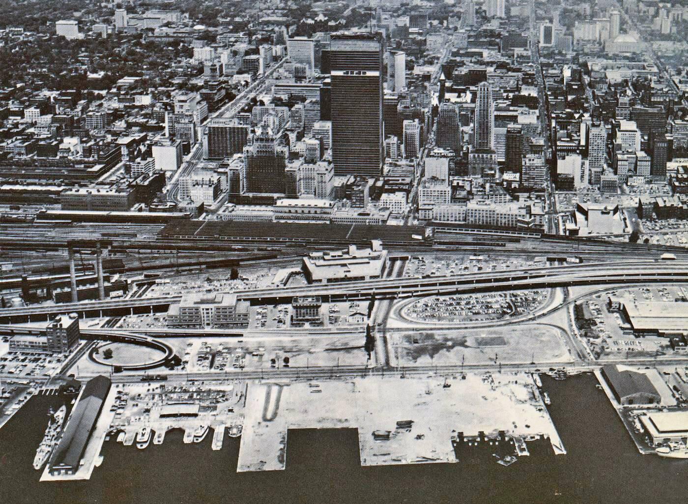 toronto aerial 1967