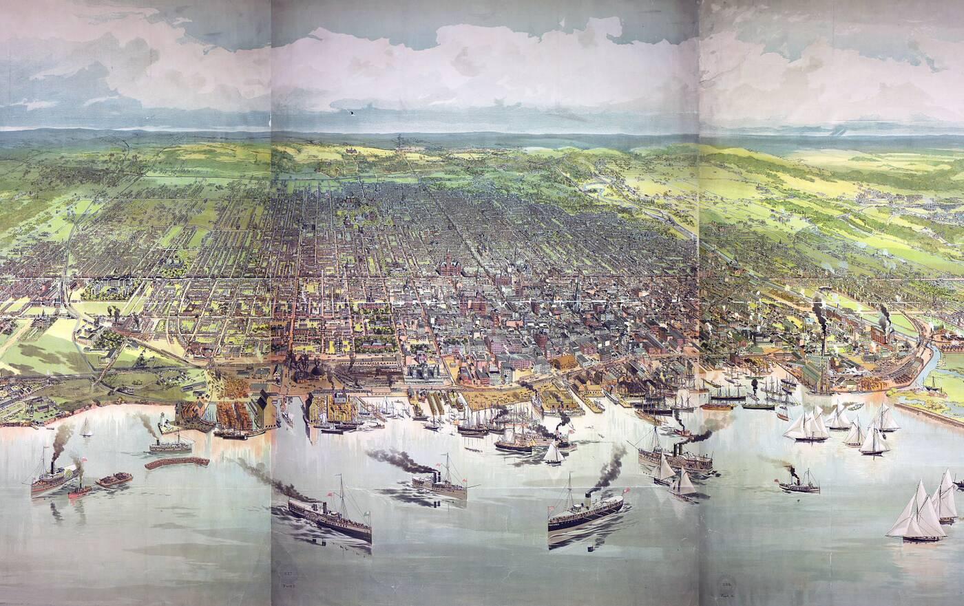 toronto map 1893