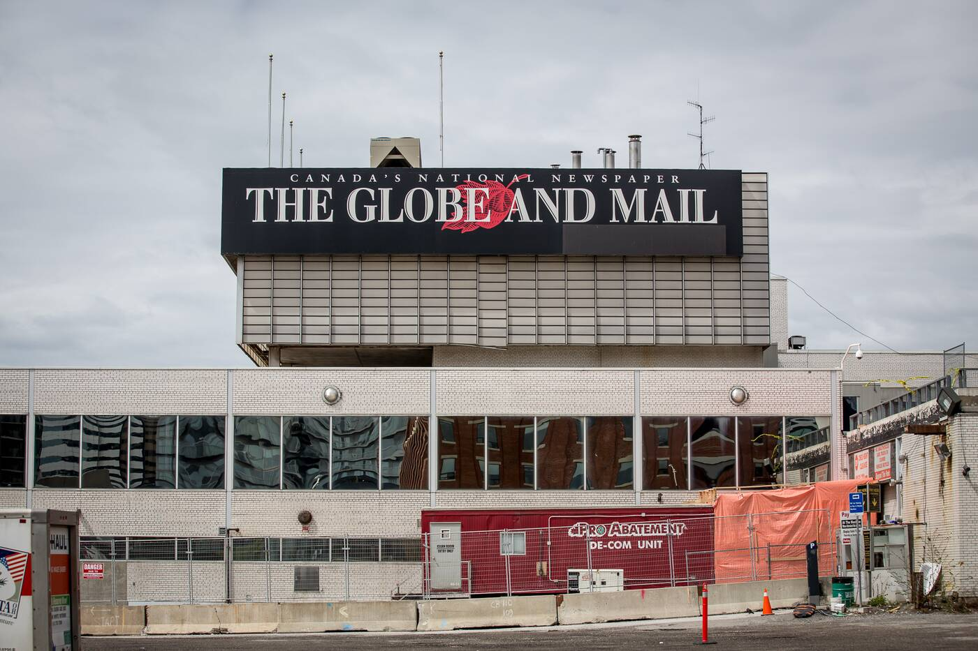 globe and mail demolition