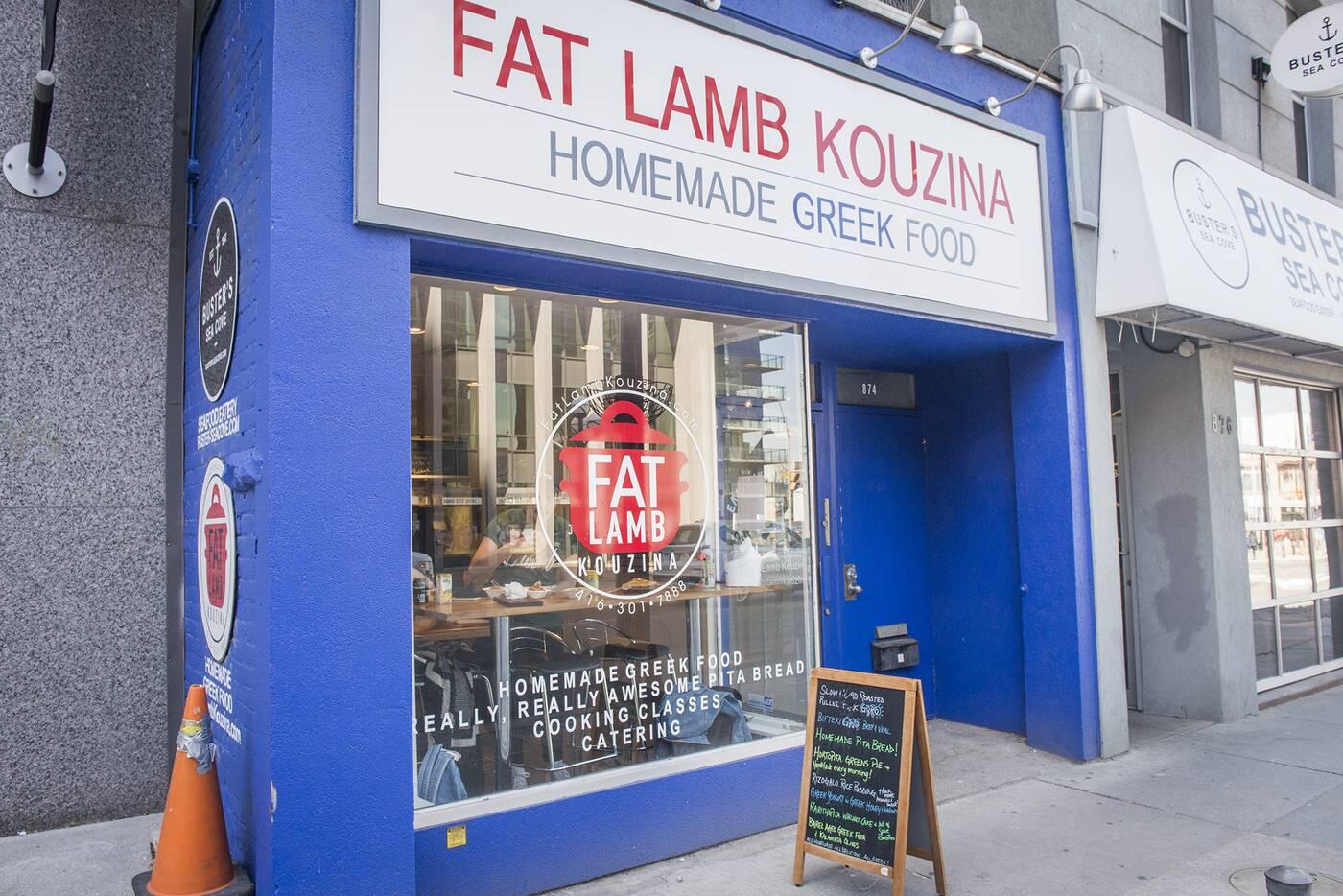 Fat Lamb Kouzina Toronto