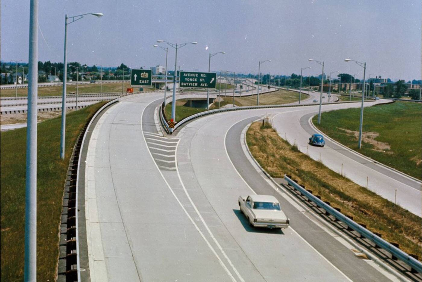 toronto traffic 1960s
