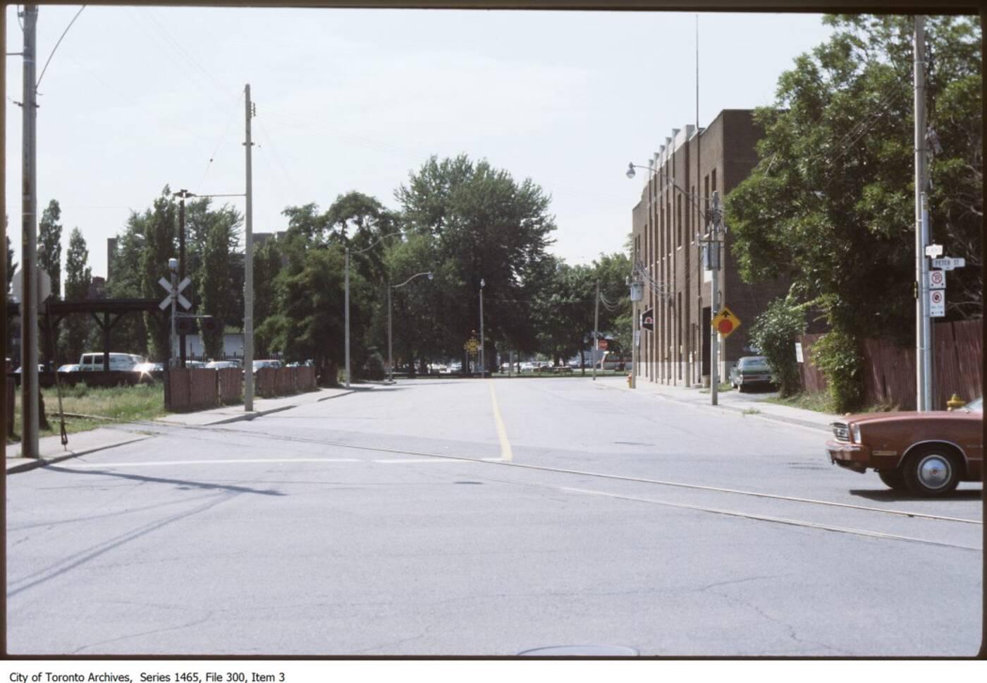 toronto traffic 1970s
