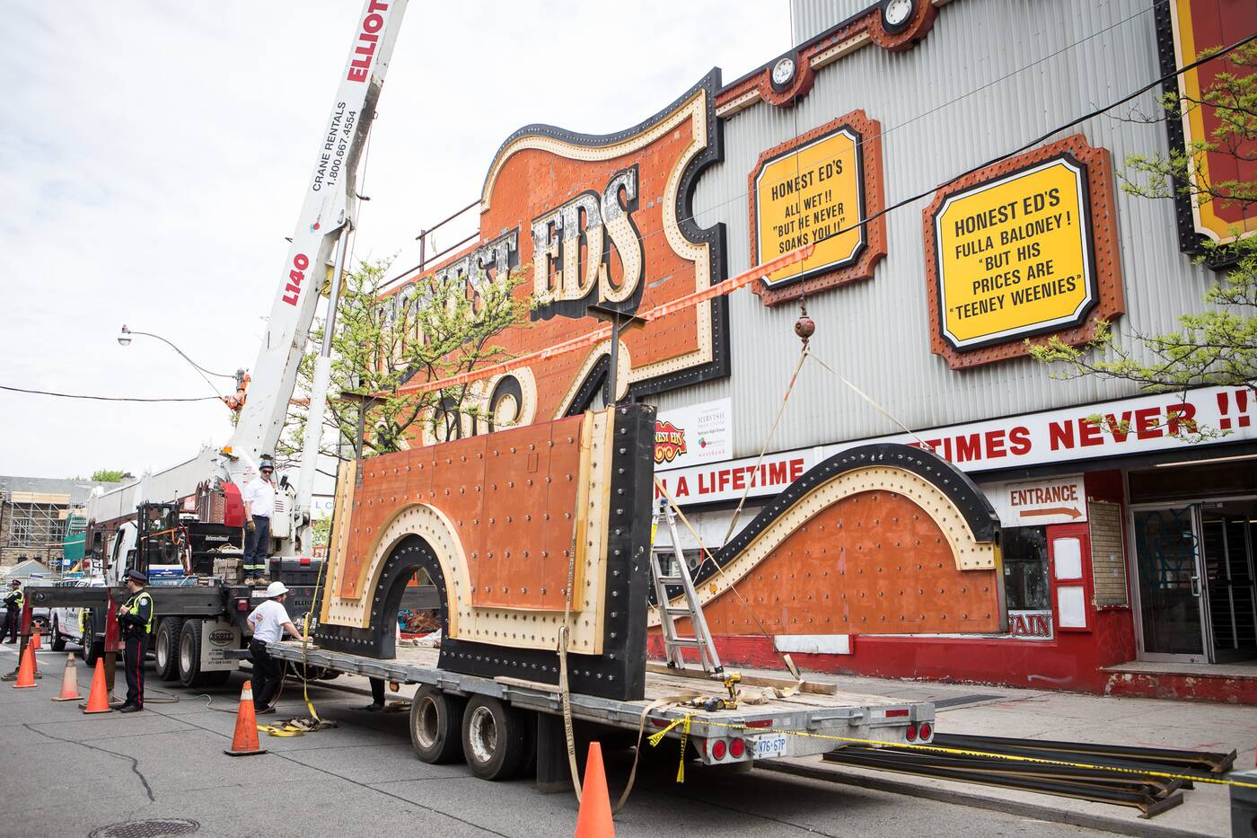 honest eds sign removal