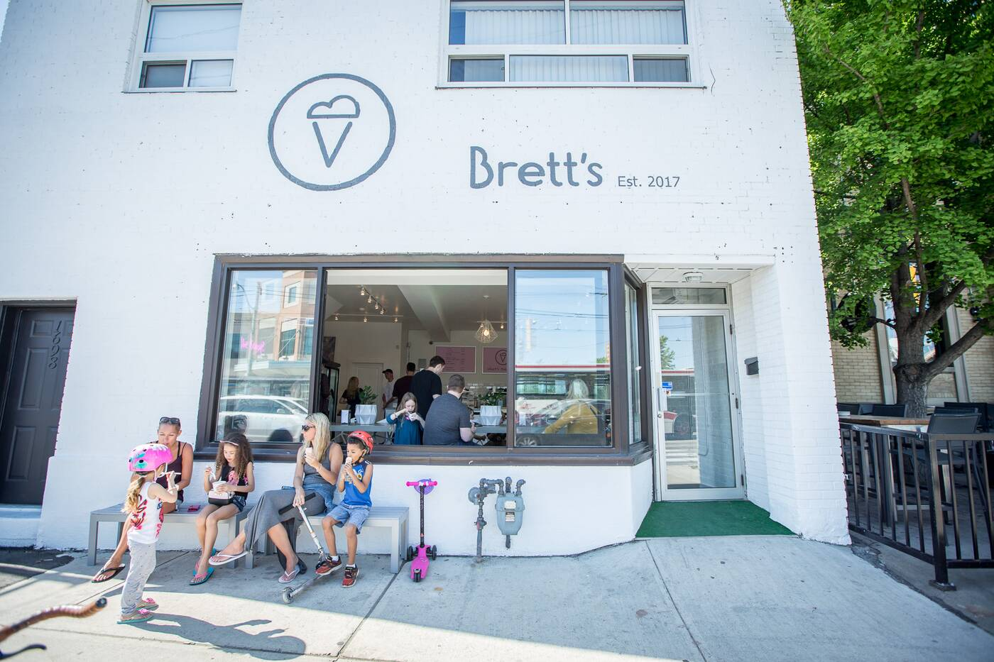 Bretts Ice Cream Toronto
