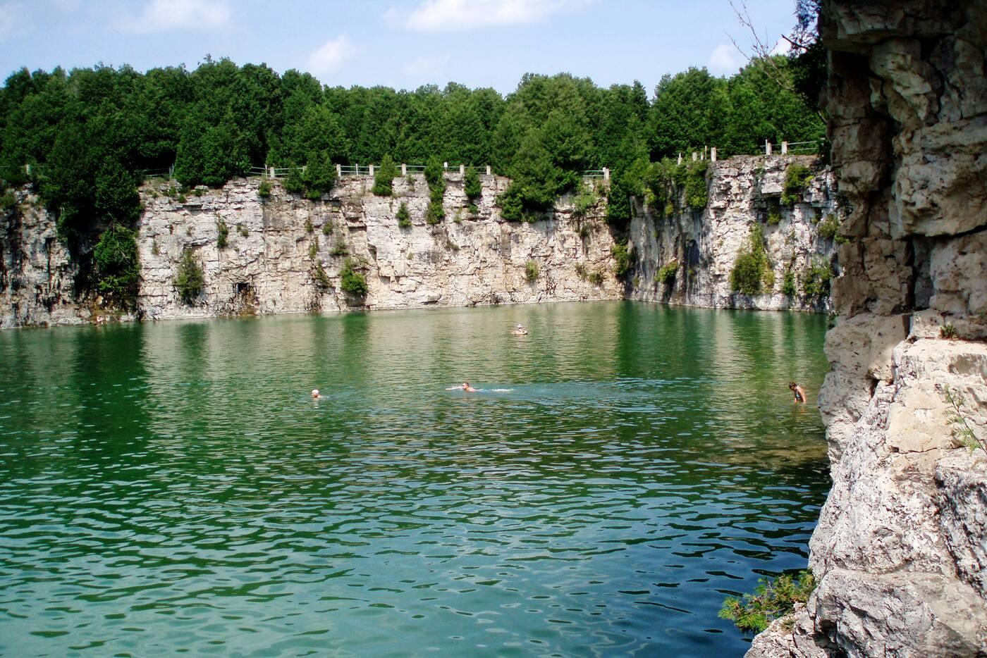 elora quarry