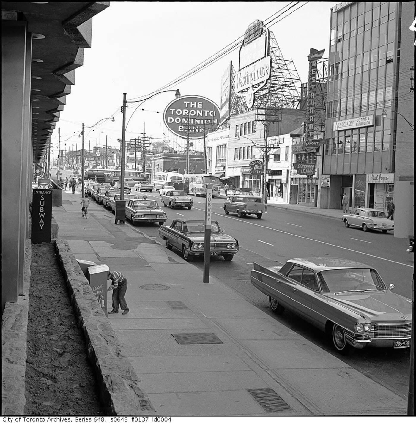 yonge eglinton 1960