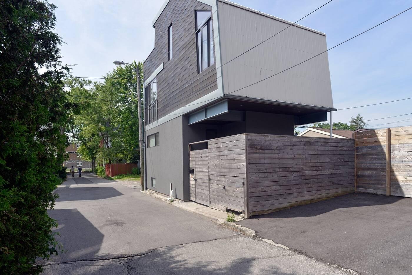 toronto laneway house