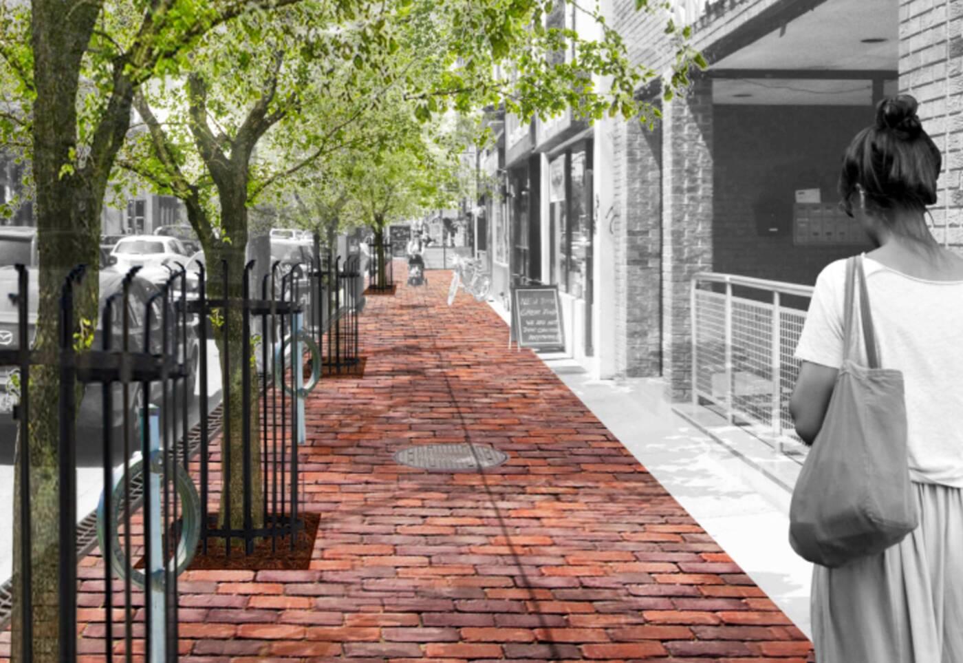 college street beautification