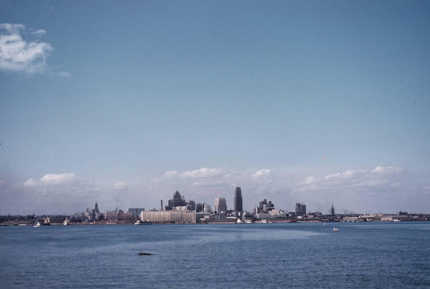 toronto skyline 1957