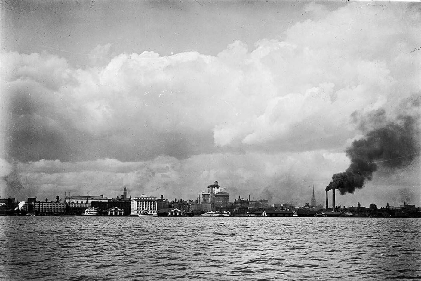 toronto skyline 1919