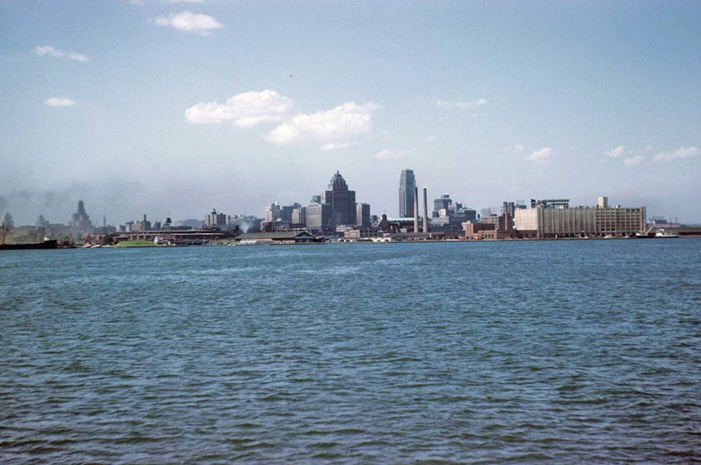 toronto skyline 1946