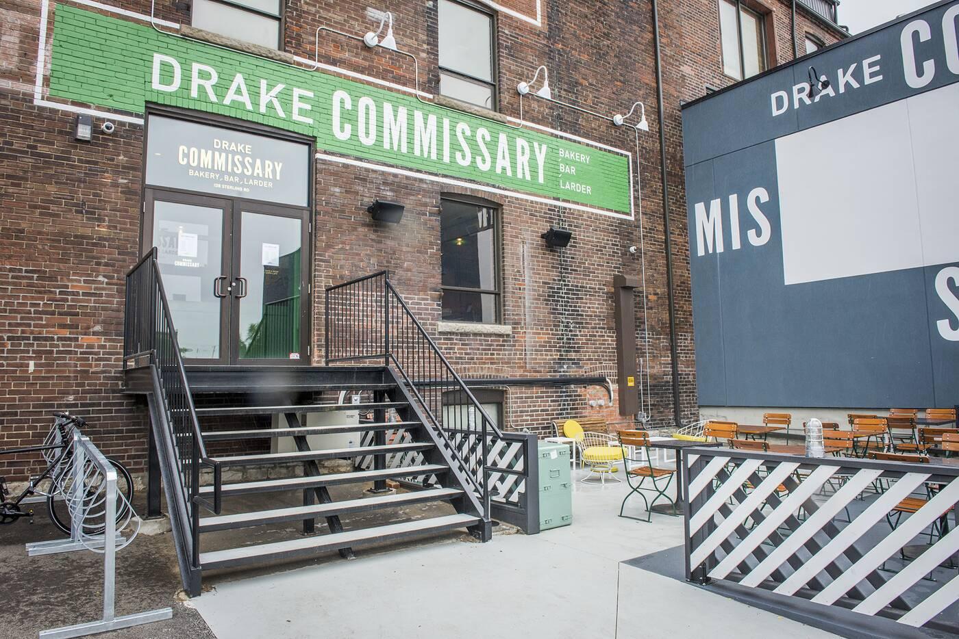 drake commissary