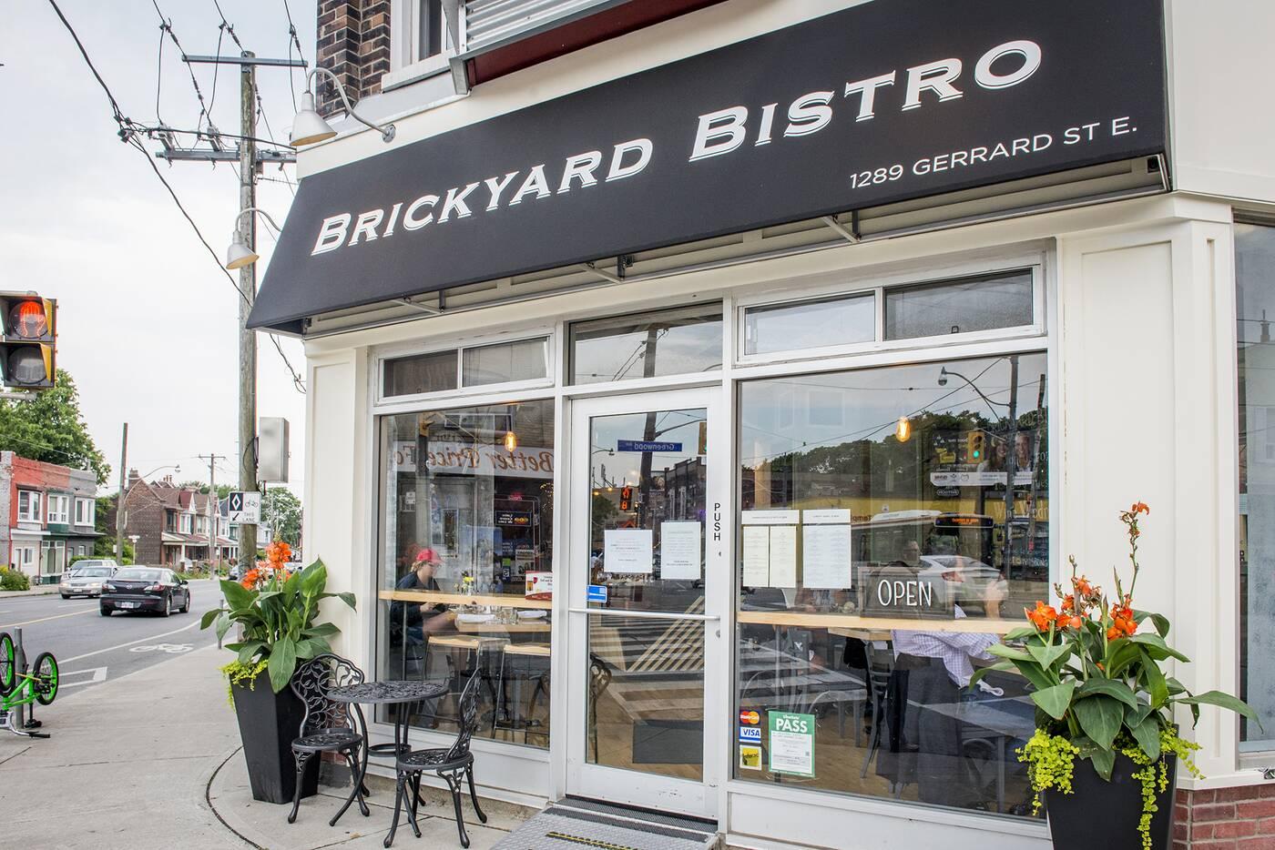 Brickyard Bistro Toronto