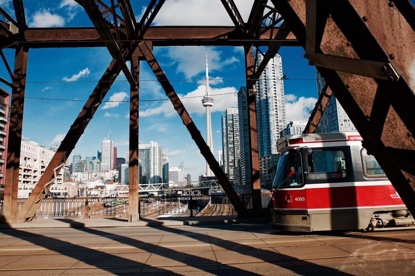 Bathurst Street Bridge Toronto