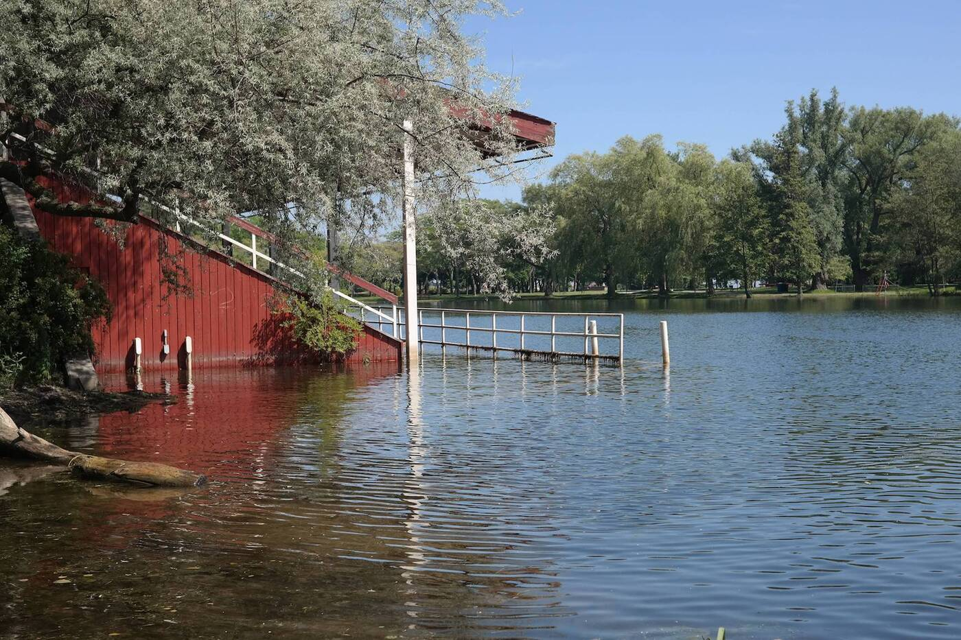 toronto island flood