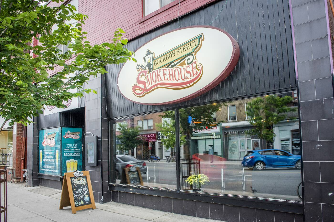 Bourbon Street Smokehouse Toronto