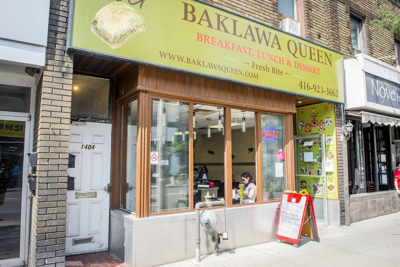 Baklawa Queen Toronto