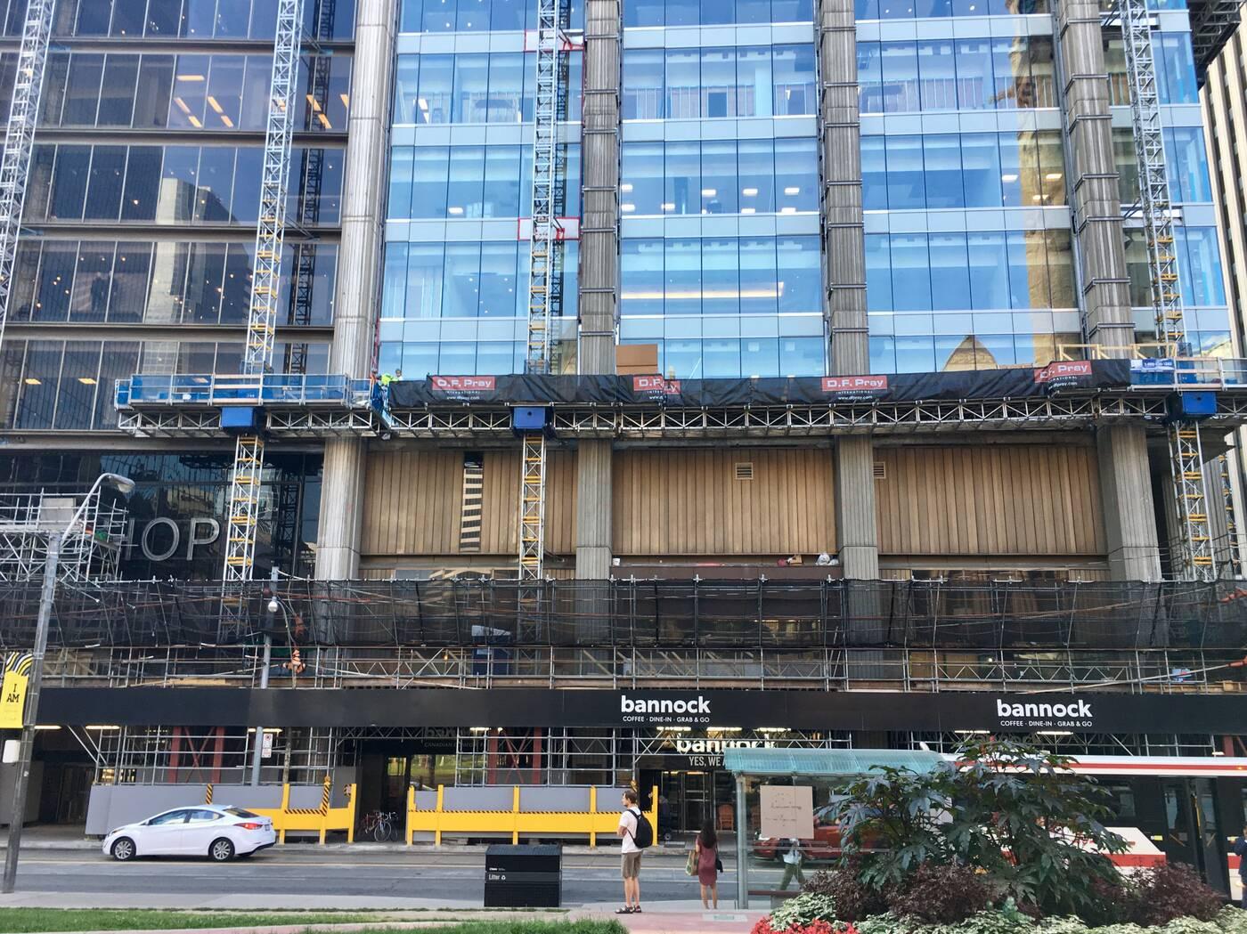 401 Bay construction