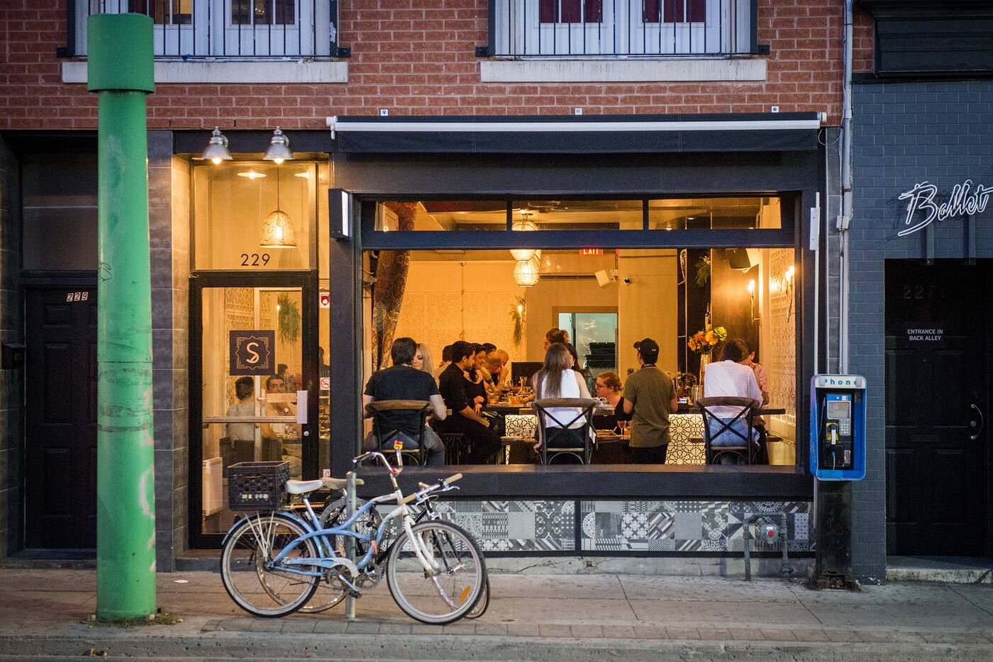 Bar Sybanne Toronto