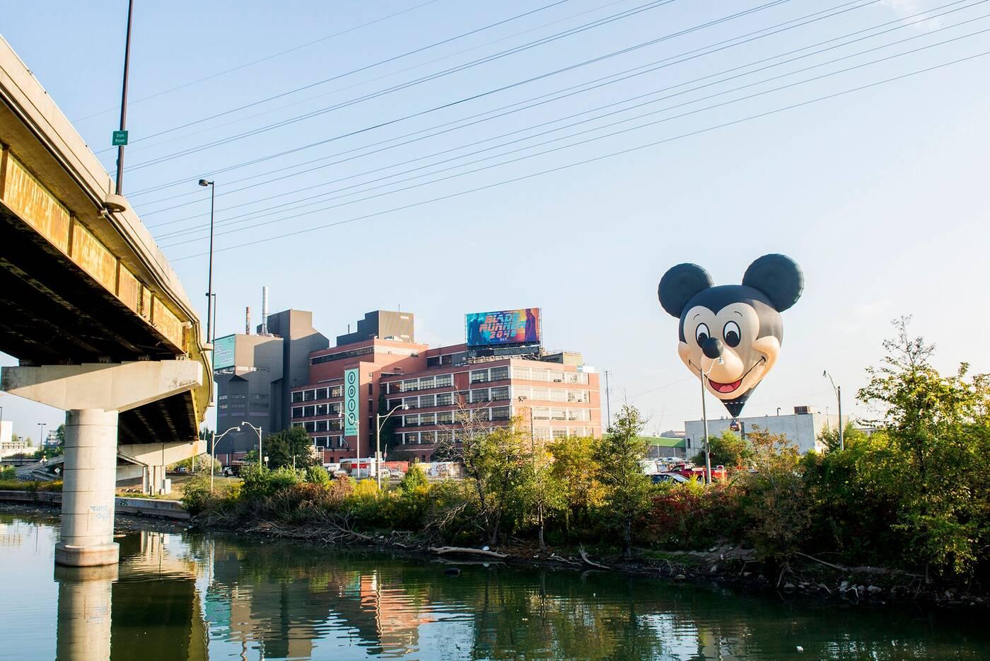 Mickey Mouse,toronto,edit