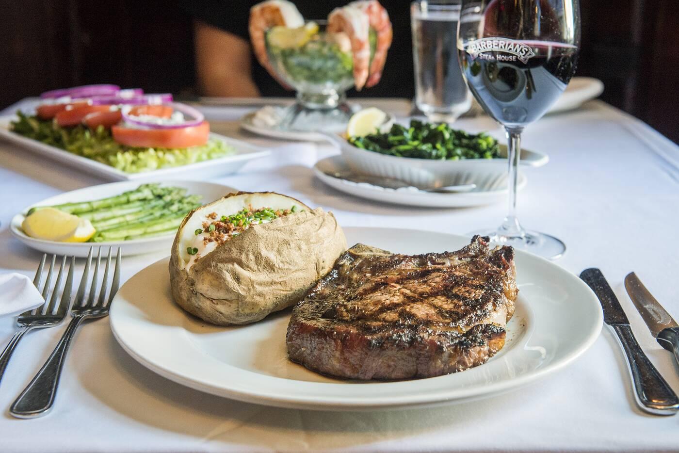 Barberians Steakhouse Toronto