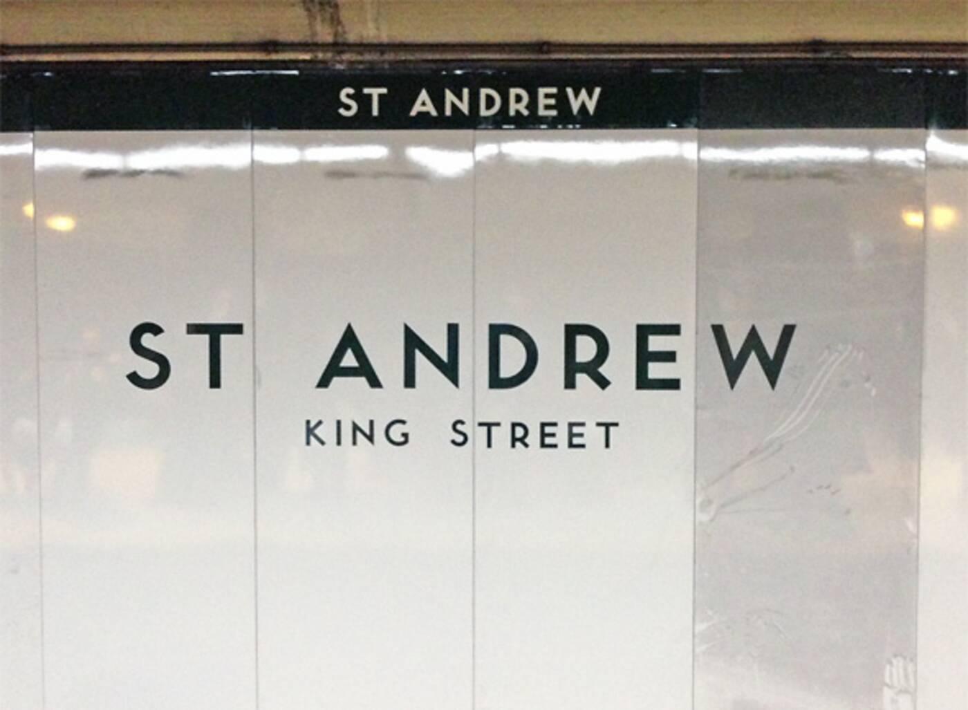 st andrew station
