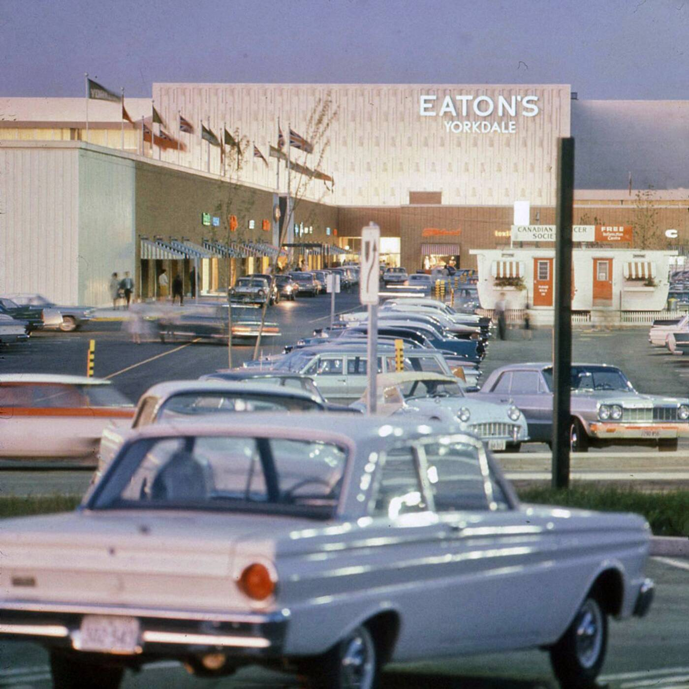 yorkdale mall 1960s