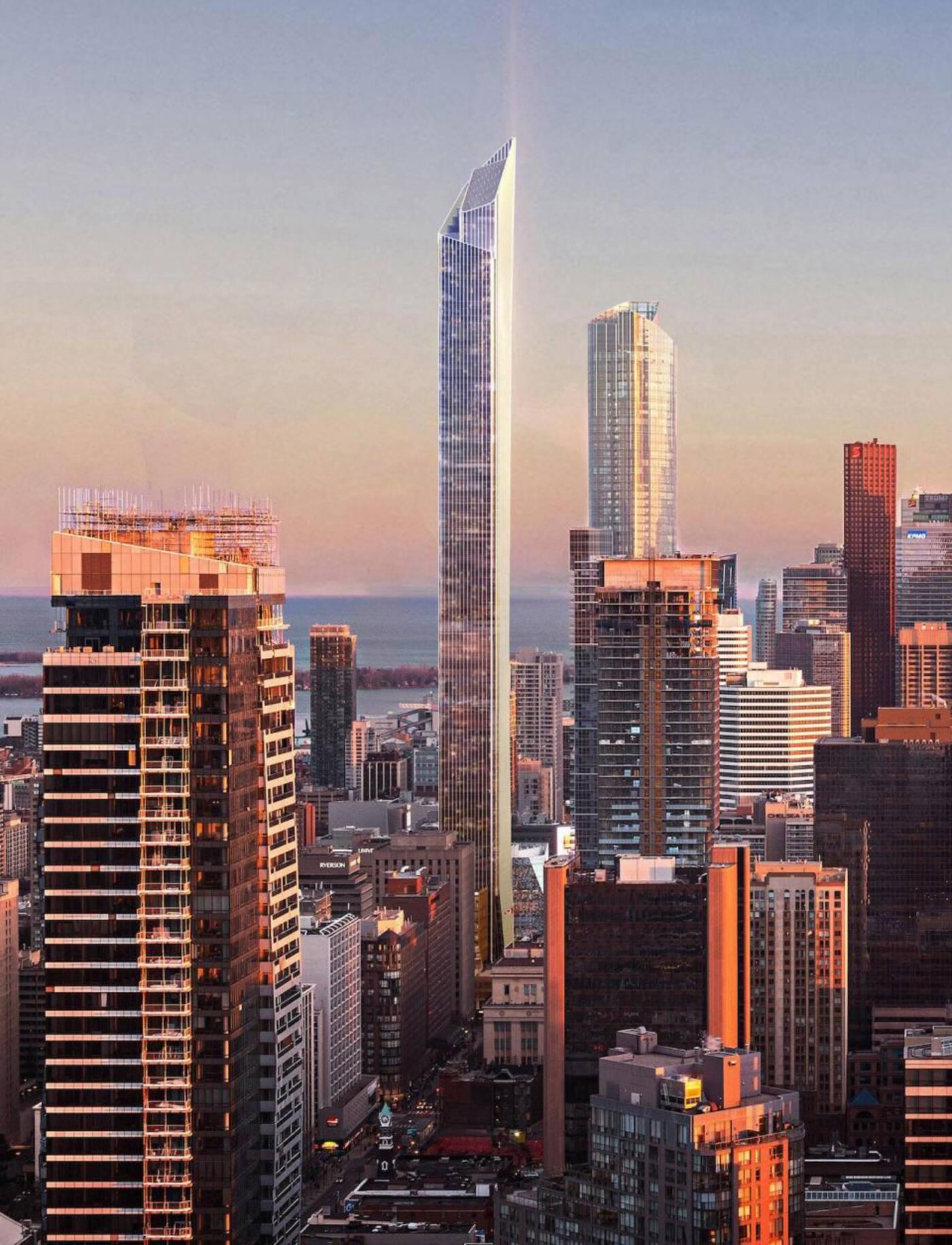 YSL building Toronto