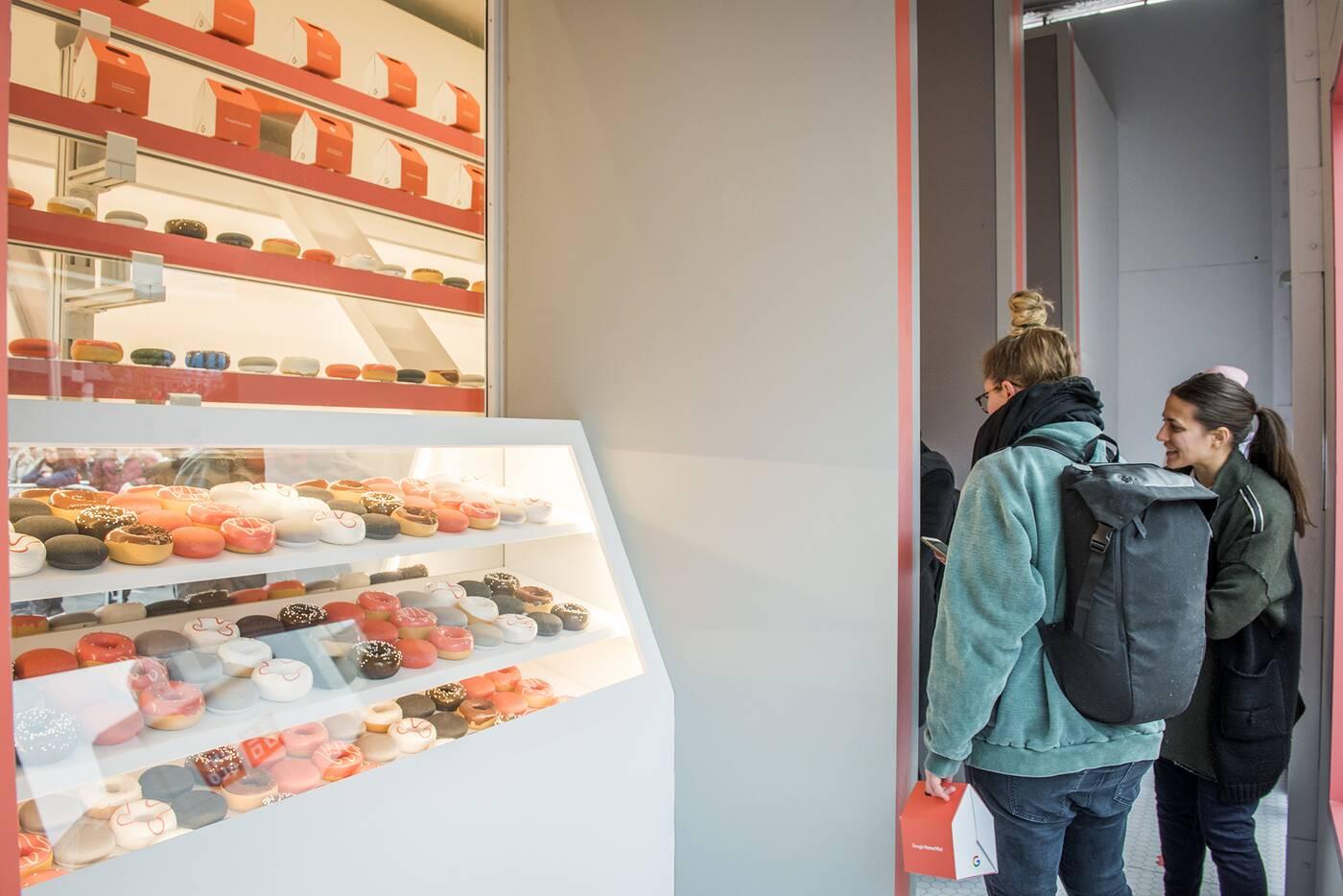 Google Donut shop