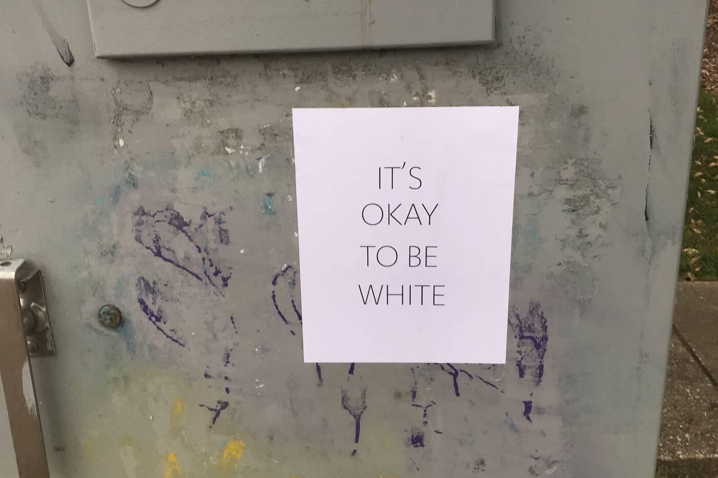 Racist signs Toronto