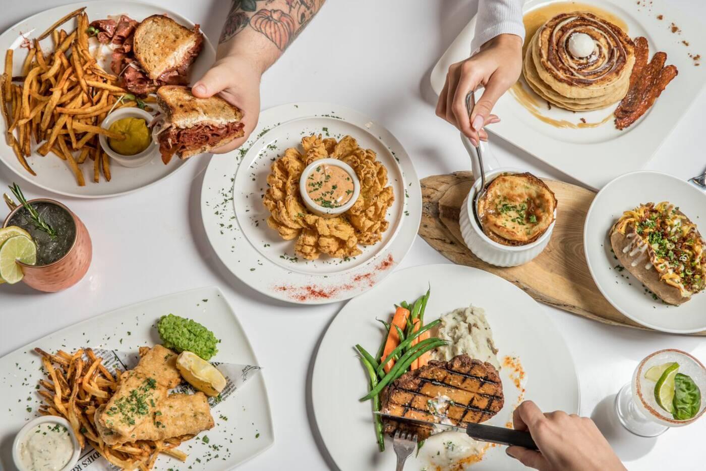 Mythology Diner Toronto