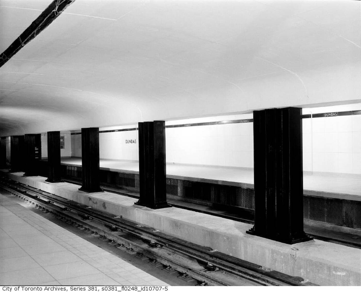 original ttc subway station