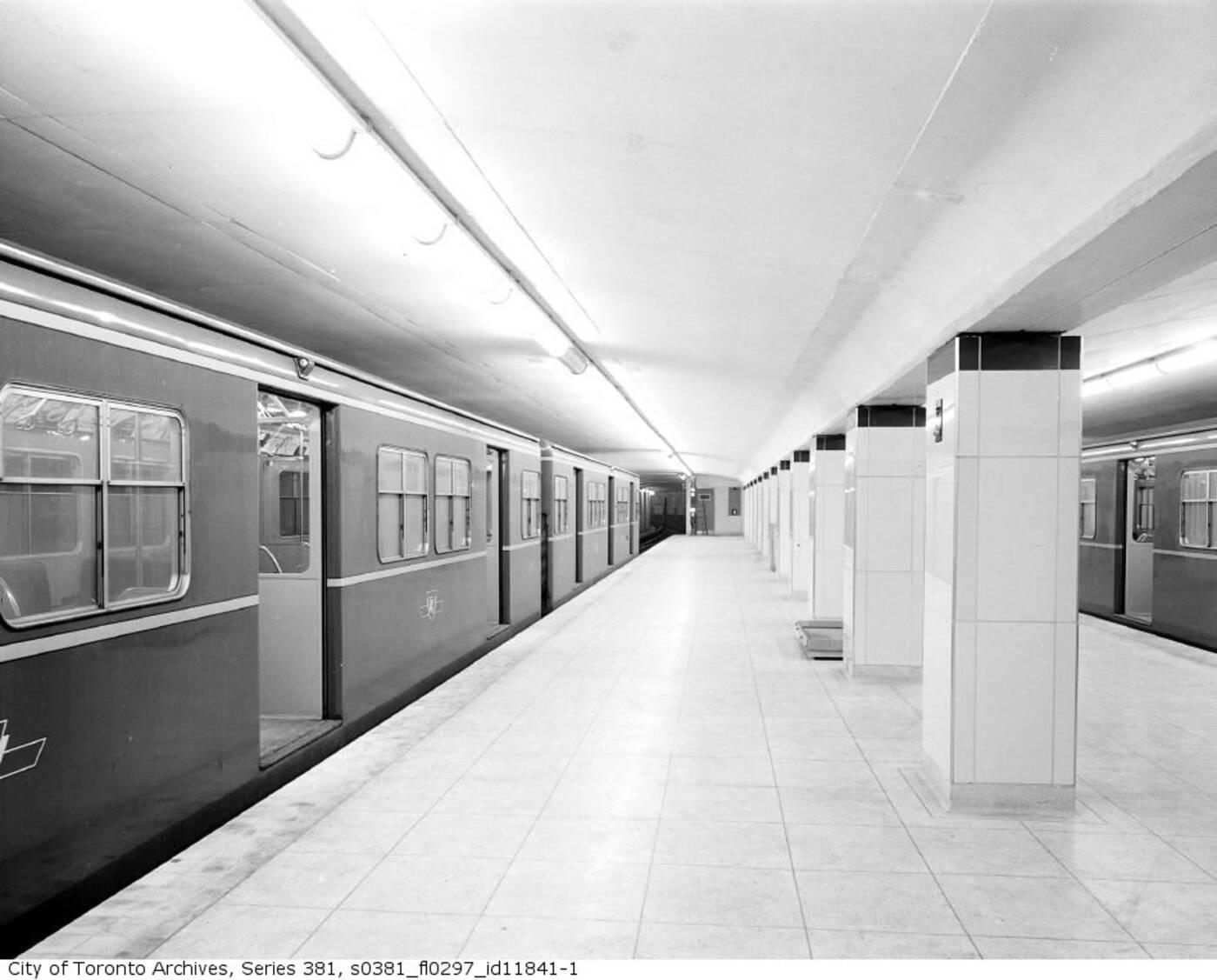 original ttc subway station