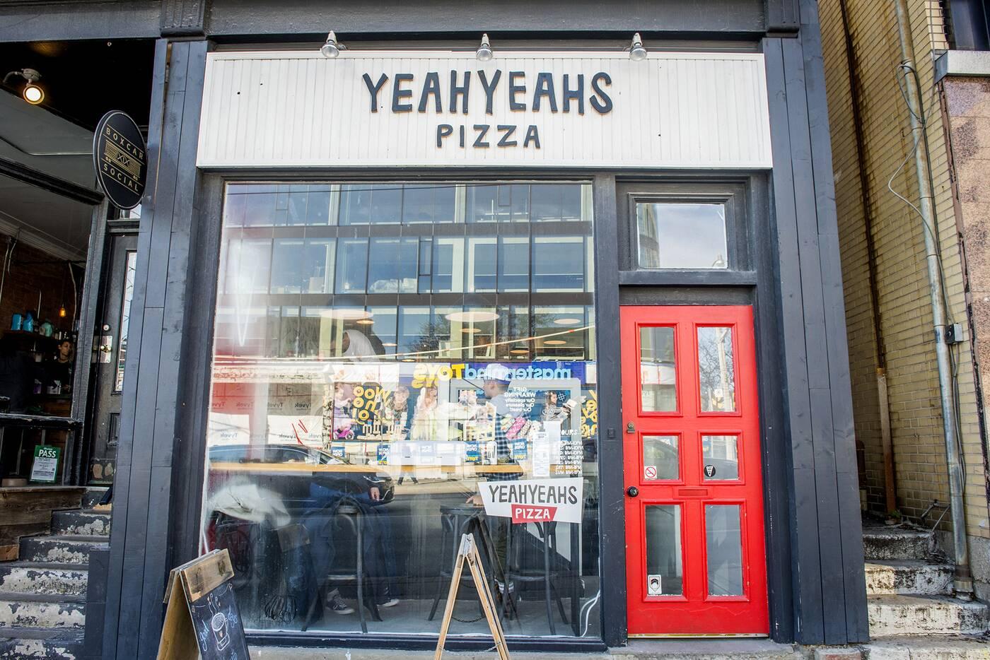 Yeah Yeahs Pizza Toronto
