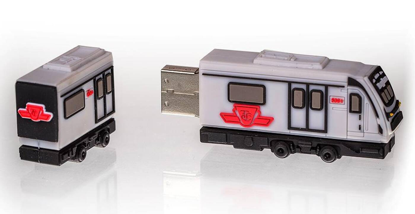 TTC subway USB